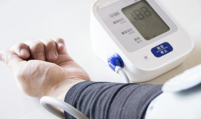 血圧の計測結果が高血圧