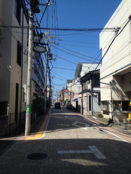 久我山駅前の商店街